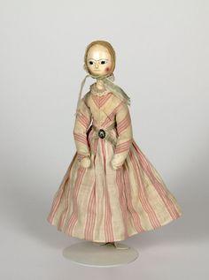 doll 1700-1750 Material cloth | wood | paint Origin England