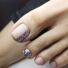 Gel Toe Nails, Feet Nails, Toe Nail Art, Toenails, Pretty Toe Nails, Cute Toe Nails, Cute Acrylic Nails, Pedicure Nail Art, Nail Manicure