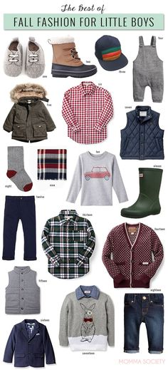Cute Fall Fashion Pieces Little Boy Baby Boy Toddler Outfits Christmas Pictures