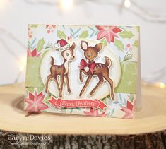 Who knew this was colored and not printed?  Not me!  I had to read the post.  JUST LOVE this card! advent-1-kitsch