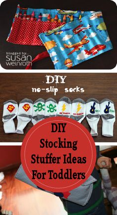 DIY Stocking Stuffers for Toddlers