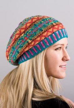 Summer Dragonfly Tam - Knitting Patterns and Crochet Patterns from KnitPicks.com