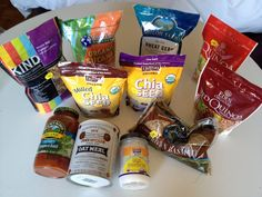 Great list of 'Packaged Foods that are Actually Healthy'. Working to be healthy and beautiful from the inside out.