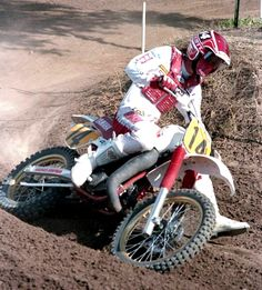 Broc Glover Motocross Love, Vintage Motocross, Off Road Racing, The Golden Boy, Motorcycle Design, Dirtbikes, Motogp, Yamaha