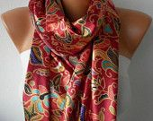 fatwoman-Lace scarves - on Etsy $17.10