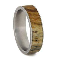 Teakwood Mens Ring