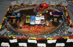 monster truck cake Peyton would love this! * Nikki Hobson*