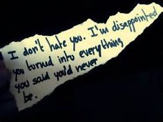disappointment quotes - - Yahoo Image Search Results