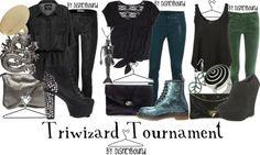 Triwizard Tournament by Disneybound