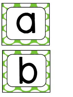 FREE boggle letter printables, variety of colours (thank you)