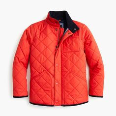 Shop the Boys' Sussex quilted jacket at J.Crew and see the entire selection of Boys' Outerwear. Find Boys' clothing & accessories at J. Boys Winter Coats, Winter Jackets, Baby Winter, Light Jacket, Quilted Jacket, Boy Outfits, J Crew, Hot Wheels, Shopping