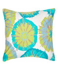 Look at this #zulilyfind! Aqua Marina Throw Pillow #zulilyfinds