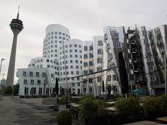 Gehry buildings in Düsseldorf, Germany