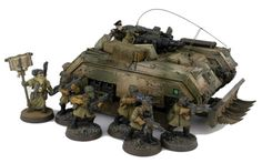 Re-painted Tanks - Warhammer 40K Fantasy