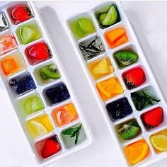 Freeze Fresh Fruit For And Instant Detox Drink.......