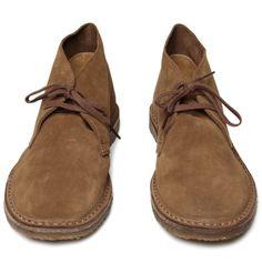 J.Crew - desert boots. <- in heavy rotation in my repertoire
