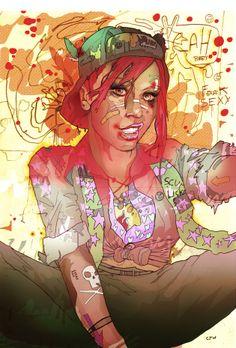 Tank Girl by Christian Ward