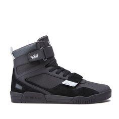 pretty nice 995e2 3b468 Supra Breaker Black Basketball Sneakers