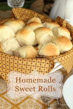 Homemade Dinner Rolls - these are the best!