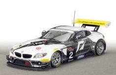 Slot cars, Scaleauto, SC-6020 'Schubert Motorsport' BMW Z4 GT3