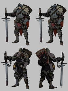 ArtStation - Wandering knight, Evgeniy Evstratiy