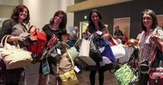 The event will feature a silent auction of approximately 77 purses and live experience auction.