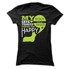 Skye Terrier T-Shirts, Hoodies. ADD TO CART ==► https://www.sunfrog.com/LifeStyle/Skye-Terrier-40785389-Ladies.html?id=41382