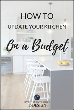 How to Update Your Kitchen on a Budget – Top 4 Ideas and Tips Buy Kitchen, Kitchen On A Budget, Updated Kitchen, Kitchen Paint, Kitchen Interior, Kitchen Design, Kitchen Decor, Kitchen Ideas, Kitchen Organization Pantry