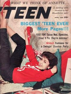 Annette Funicello. Everyone wanted to be Annette