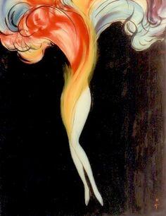 Lido poster design René Gruau 1988