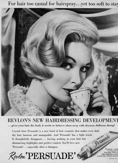 salon advertising Vintage black beauty