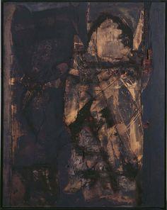 Muñoz, Lucio: Tabla Cañuelo Lucio Muñoz paintings, plastic arts, visual arts, fine arts, abstract