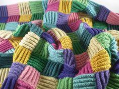 Frankie Brown Her kan du strikke så mange lapper du vil, i akkurat det garnet du ønsker og ikk...