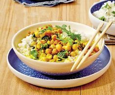 Chana Masala, Quinoa, Macaroni And Cheese, Food And Drink, Health Fitness, Vegetarian, Vegetables, Cooking, Ethnic Recipes