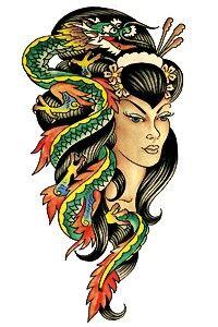 ed hardy tattoos Ed Hardy Designs, Ed Hardy Tattoos, Deep Tattoo, 1 Tattoo, Christian Audigier, Red Ink Tattoos, Body Art Tattoos, Flash Tattoos, Skull Tattoos