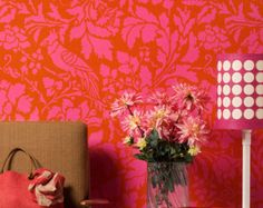 Wall Stencil Large French Floral Damask Allover Stencil for Elegant DIY Wall Decor