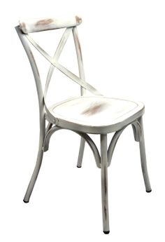 MC-6604-WHT #antiquefinishchair #restaurantdiningchair #contractseating #affordablerestaurantchairs #economyseating #acaciaseating