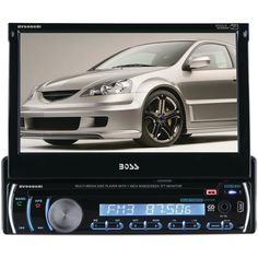 """Boss Audio 7"""" Single-din In-dash Dvd And Mp3 And Cd & Am And Fm Receiver With Bluetooth"""