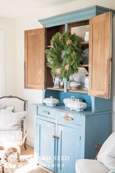 Just imagine a kitchen without built-in cabinetry and long stretches of counter tops.  That's a pretty radical idea in the US in this day and age, but, for our next house, that's exactly what I want. photo via I've been thinking about it for a while now…a kitchen that is gutted and furnished with freestanding antiques mixed with some modified ... Read More