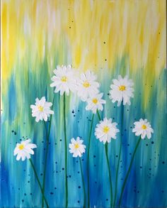 Hey! Check out Dreaming of Daisies at Yoki (Medford) - Paint Nite Event