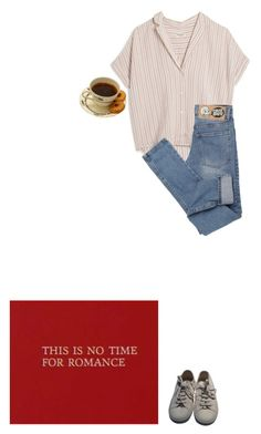 """""""this is kinda boring"""" by loureedsexualfrustration ❤ liked on Polyvore featuring MASSCOB, Cheap Monday, Superga, women's clothing, women, female, woman, misses and juniors"""
