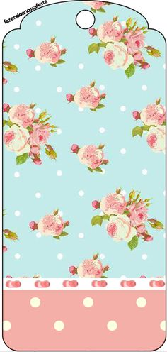 Shabby Chic in Pink and Light Blue: Free Party Printables. Cricut Banner, Bunting Banner, Cute Wallpaper Backgrounds, Cute Wallpapers, Party Printables, Free Printables, Baby Shower Background, Oh My Fiesta, Bird Free