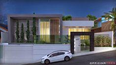 OfficinaTrês: Casa moderna, Loteamento Alphaville, Manhuaçu-MG