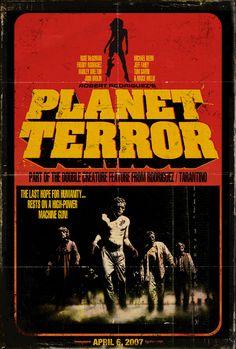 Vintage Movie Posters | Planet Terror movie poster