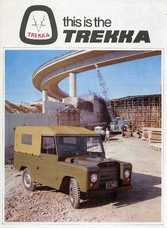 Trekka 1966 in New Zealand. Advertising History, Car Advertising, Diy Aquarium, Land Rover, Volkswagen Group, Car Manufacturers, Old Cars, Cars And Motorcycles, Luxury Cars