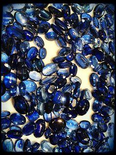 Kyanite pebbles