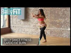 Beginners Level 1 Belly Dance at Fleur Estelle Dance School - YouTube