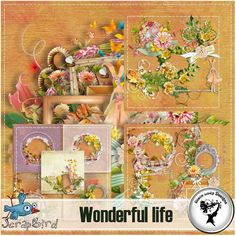 Wonderful life Full pack by Black Lady Designs