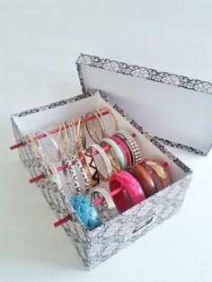 Bangle Bracelet Storage Box for Jewelry Box Bangle Box Jewelry Holder Bangle Display Bangle Bracelet Jewelry Bracelet Box Free US Shipping