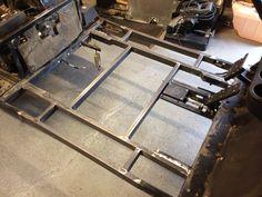 New stainless steel floor installed  Ezgo limo 6